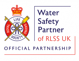 Water Safety Partner Of RLSS UK Logo Web